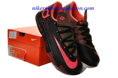 reputable site 7b265 32af9 Cheap Nike KD VI 6 Shoes For Sale Low Black White 599424 104   Kevin Durant