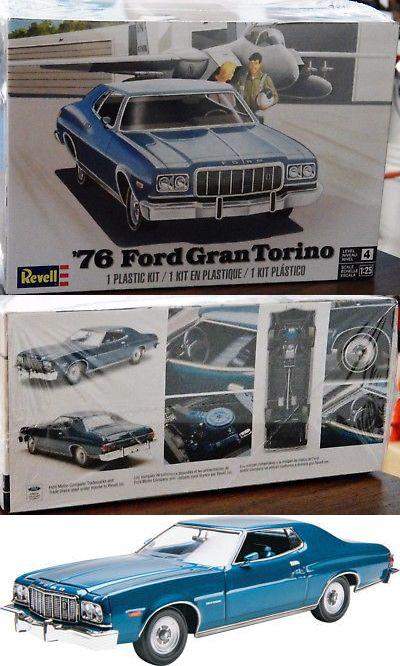 1 25 Scale 145975 Revell Monogram 4412 1976 Ford Gran Torino