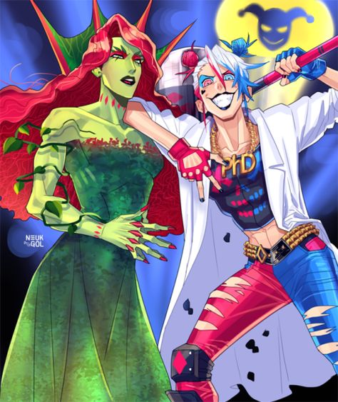 🤘🏼[Bat Time]🤘🏼 — neukgol: poison ivy and harley quinn Native American Costumes, American Indians, Sirens, Dc Poison Ivy, Batman Comics, Gotham Batman, Batman Art, Batman Robin, Frozen Costume Adult