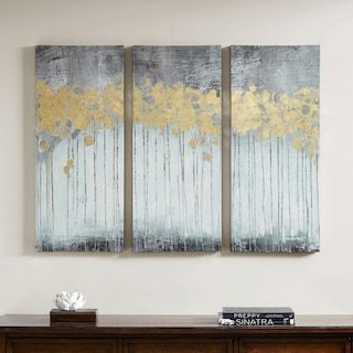 Madison Park Evening Forest Canvas Wall Art 3 Piece Set Kohls 3 Piece Canvas Art Abstract Canvas Wall Art Canvas Wall Art