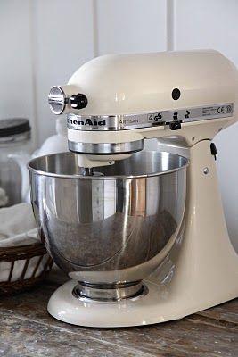 White Kitchenaid Mixer kitchenaid classic ice cream scoop | kitchen | pinterest