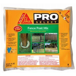 Fence Post Mix 33 Oz In 2020 Fence Expanding Foam Concrete