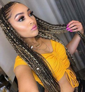 35 Tribal Braids Styles With Images Braids With Beads Hair