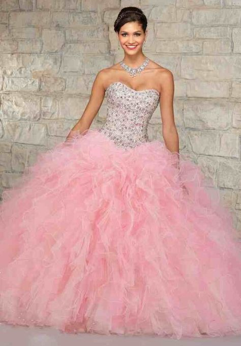 211383c966a3 Quincenera dress | Projects to Try | Light pink quinceanera dresses ...