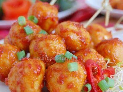 Resep Pentol Ayam Pedas Manis Rumahan Bebas Formalin Satu Resep Jadi Banyak Modern Id Resep Masakan Resep Masakan