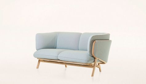 Astonishing Luca Nichetto Stanley 2 Seater Sofa Furniture Andrewgaddart Wooden Chair Designs For Living Room Andrewgaddartcom