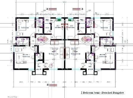 14 Awesome Semi Detached Bungalow House Plans Bungalow Floor Plans Bungalow House Plans House Plans