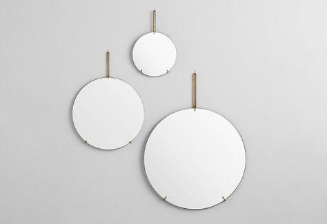 Frameless Wall Mirror Designed By Moebe Twentytwentyone With