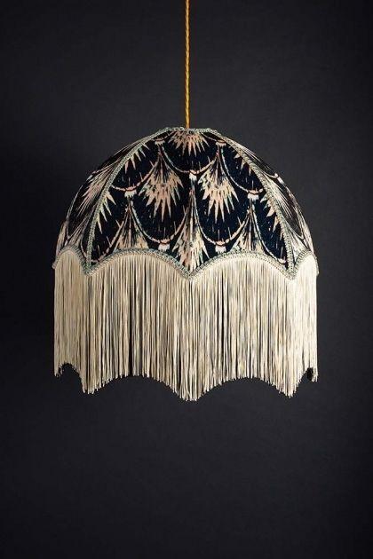 Anna Hayman Designs Pearl Pendant Shade Modern Lamp Shades Ceiling Lights Lamp Shades