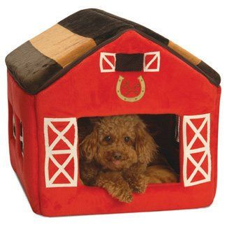 70 00 100 00 New York Dog Little Red Barn Dog House Bed 19 X 18