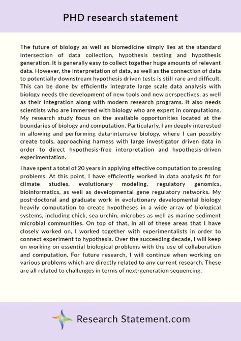 Pin By Research Statement On Phd Research Statement Sample Data