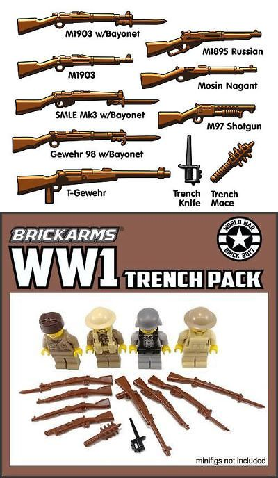 BRICKARMS BLADE Weapon Pack Army Military designed for LEGO Minifigure