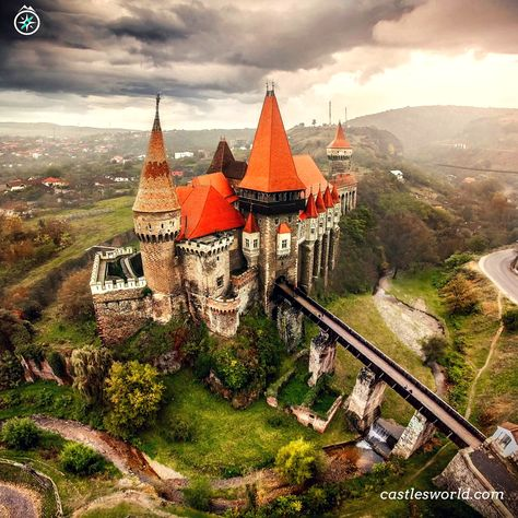 Corvin Castle, Romania One of the largest castles in Europe, it also figures in a top of seven wonders of Romania…
