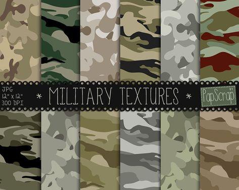 Camouflage digital paper :