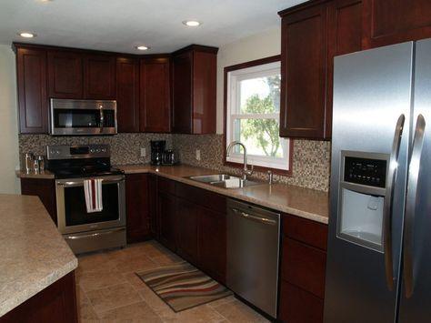 Maple Cranberry Kitchen Cabinets Raj Kitchen Cabinets Kitchen