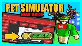 NEW HACK IN PET SIMULATOR *ROBLOX* | Roblox Hack | Hacks