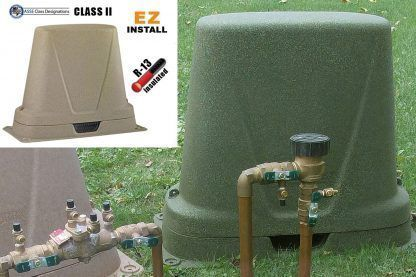 Dekorra Model 301c2 Insulated Backflow Cover Protection Enclosure Concrete Pad Insulated Well Pressure Tank