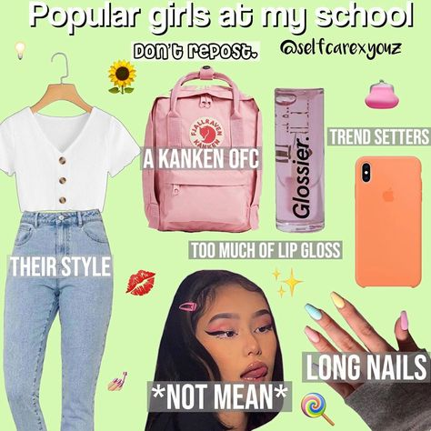 Popular girls at my school-  Follow @selfcarexyouz for more - #threadstories #threadstory #selfcarethreads #storyti...