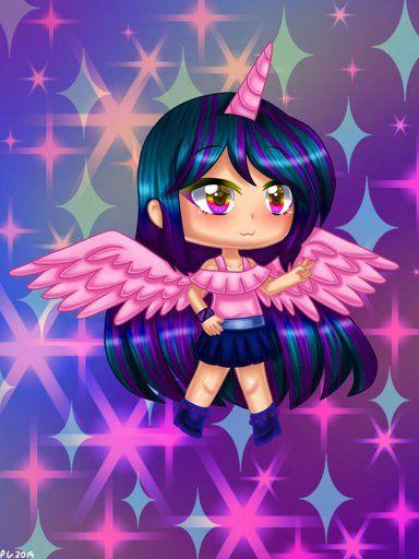 Gacha Unicorn Cute Drawings Girl Pony Anime