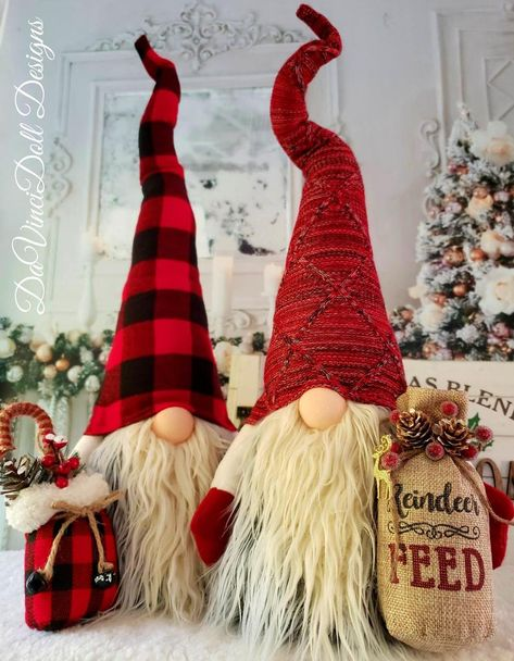 Christmas Wood Crafts, Plaid Christmas, Holiday Crafts, Christmas Ornaments, Christmas Tree, Christmas Knomes, Reindeer Food, Xmas Decorations, Craft Projects