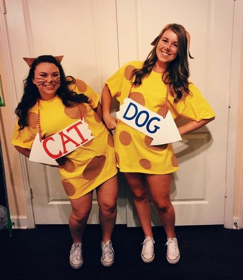 Catdog Easy Diy Halloween Costume Diy Halloween Costumes Easy