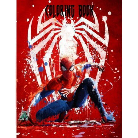 Spiderman Coloring Book Toddlers Spiderman Jumbo Coloring Book With 44 Great Images Great Gift For Girls And Boys Paperback Walmart Com In 2021 Spiderman Artwork Spiderman Marvel Spiderman