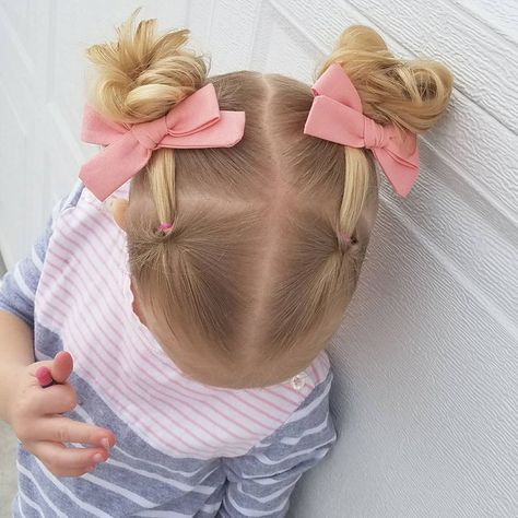 Easy Toddler Hairstyles, Baby Girl Hairstyles, Easy Little Girl Hairstyles, Cute Hairstyles For Toddlers, Hairstyle For Baby Girl, Black Hairstyle, Princess Hairstyles, Infant Hairstyles, Ponytail Hairstyles
