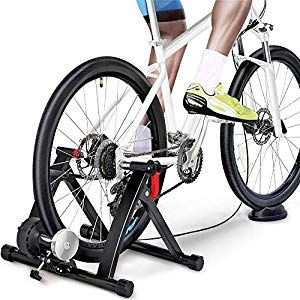 Yaheetech Magnetic Bike Trainer Stand W 6 Speed Level Wire