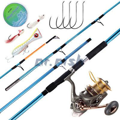Ad Ebay Link Dr Fish Surf Fishing Rod Reel Combos 11 8ft Spinning Reel 10000 Ship From Us Surf Fishing Rods Fishing Rods And Reels Rod And Reel