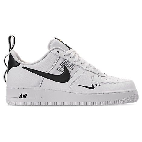 Nike Men S Air Force 1 07 Lv8 Utility Casual Shoes White Modesens