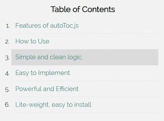 Table Of Contents Template Table Of Contents Template Table Of