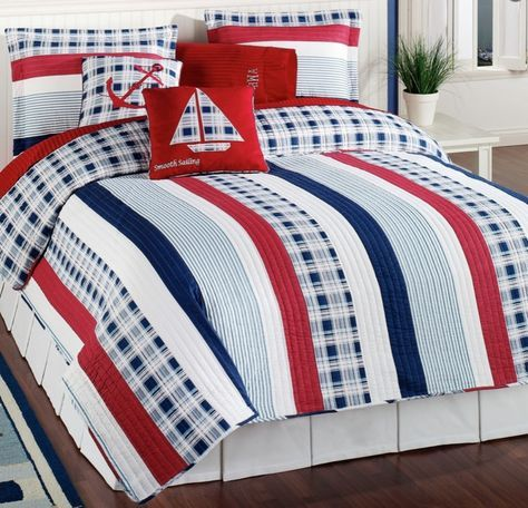 American Flag Bedding Set 6 Piece Twin Comforter With Red White Blue American Flag Bedroom Blue Bedding Queen Bedding Sets
