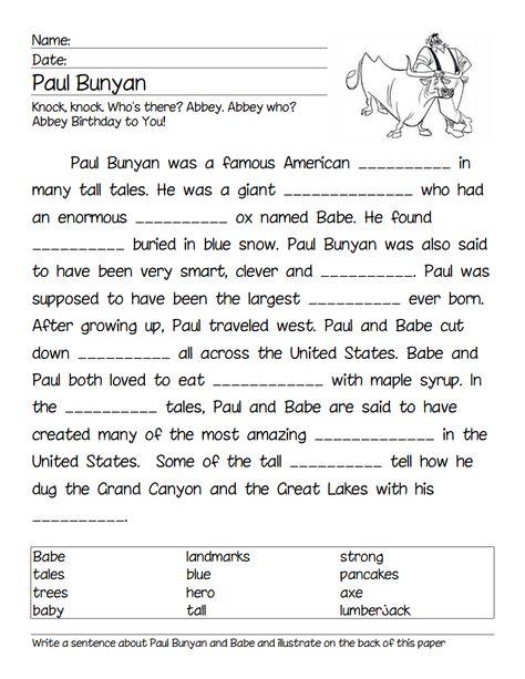 Paul Bunyan Cloze.pdf