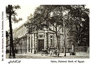 The Old National Bank Of Egypt Cairo In 1904 Egypt Culture Egypt Cairo