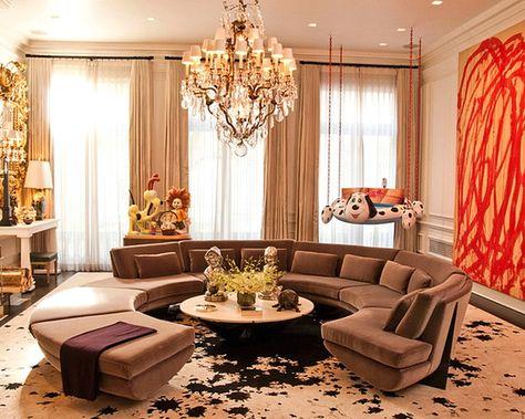 model desain sofa unik ruang tamu kecil minimalis terbaru