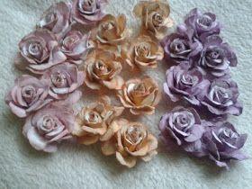 Papierowe Fantazje Ewqi Recznie Robione Kwiaty Z Papieru Floral Floral Rings Paper Clay