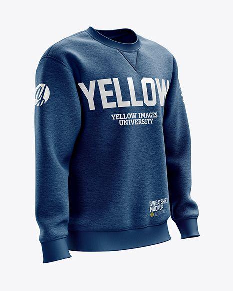 Download Men S Heather Heavyweight Sweatshirt Mockup Right Half Side View In Apparel Mockups On Yellow Images Object Mockups Clothing Mockup Shirt Mockup Design Mockup Free