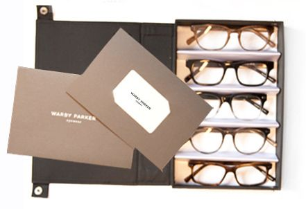 Warby Parker Gift Box - Your $95 Warby Parker gift card comes in a ...