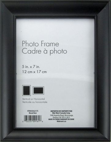 Nikolai 5 X 7 Black Photo Frame Black Frame Black Photo Frames Picture Frames