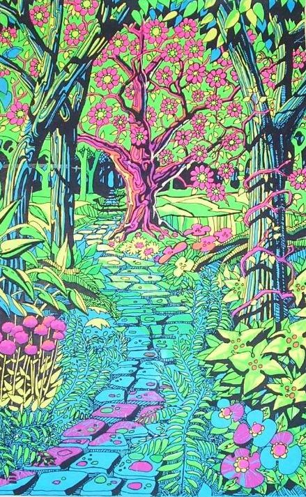 Pin On Psychedelic Blacklight Posters