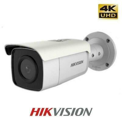 Details About Poe 4k Bullet Camera 8mp Ir Hikvision Ds 2cd2t85g1 I5 H 265 Rj45 Face Detection Security Camera System Home Surveillance Camera