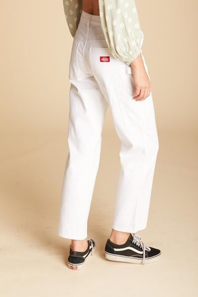 White Carpenter Pant Pants For Women Pants Dickies Pants