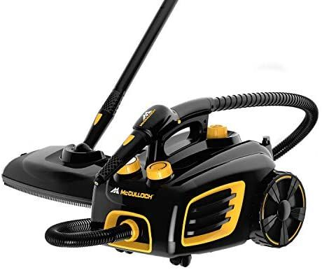 Amazon Com Mcculloch Mc1375 Canister Steam Cleaner With 20 Accessories Extra Long Power Cord Chemical Free In 2020 Chemical Free Cleaning Carpet Steam Black Carpet