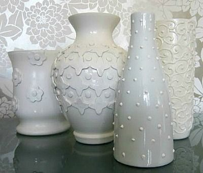 41 Ways To Reuse Old Vases Craft Ideas Vase Crafts Painted