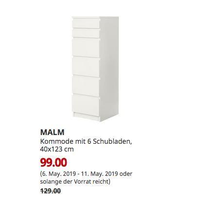 Ikea Chemnitz Malm Kommode Mit 6 Schubladen Weiss Spiegelglas 40x123 Cm Malm Kommode Ikea Malm Kommode Spiegelglas