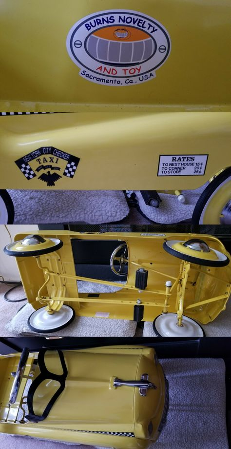 Pedal Cars 19021: Pedal Cars 1Fire Truck And 1Taxi -> BUY IT NOW ONLY: $250 on #eBay #pedal #truck