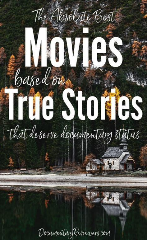 These unbelievable movies based on true stories are so good, they deserve documentary status! Each one tells the true story of a major event or person that you just won't believe actually occurred (or did what they did! Best Documentaries On Netflix, Films Netflix, Good Movies On Netflix, Best Movies List, Netflix Codes, Netflix Shows To Watch, Movie To Watch List, Good Movies To Watch, Tv Series On Netflix