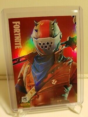2019 Panini Fortnite Series 1 RUST LORD Epic Holo Foil Card #230