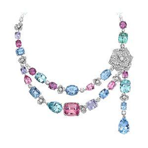 White gold Beryl Diamond Necklace G37LG700 - Piaget Luxury Jewelry Online