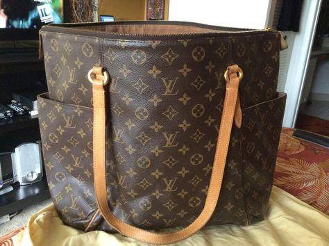 c946cf90d3cc Authentic Louis Vuitton Totally GM  LouisVuitton  Hobo